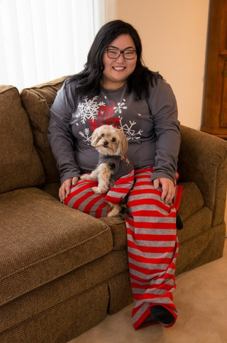 11 matching dog owner pajamas that are adorable from head to paw photos. Black Bedroom Furniture Sets. Home Design Ideas