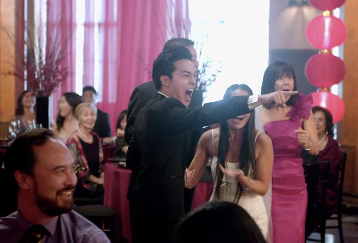 Maroon 5 39 s sugar video has them crashing weddings for Maroon 5 wedding video