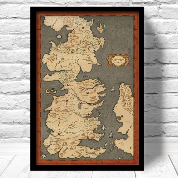 For the future cartographer 15 gifts for 39 game of for Christmas gifts for game of thrones fans