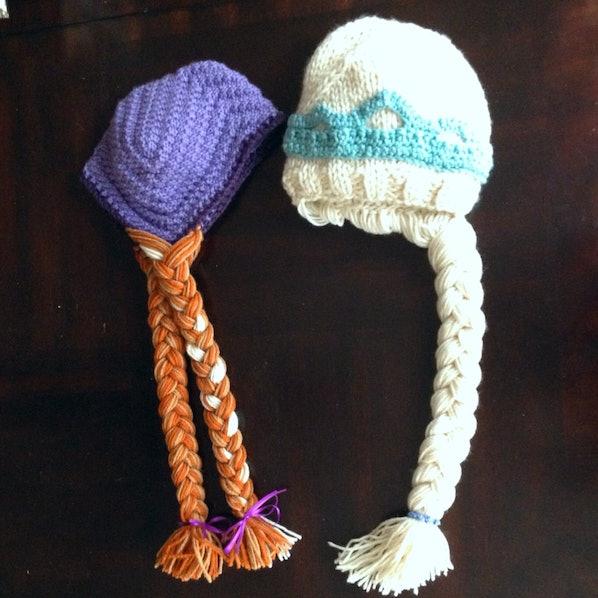 Knitting Pattern For Elsa Hat : Bustle
