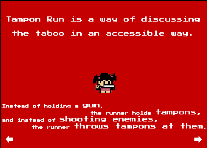Play Video Game 'Tampon Run' to Vanquish Enemies with Tampons ...
