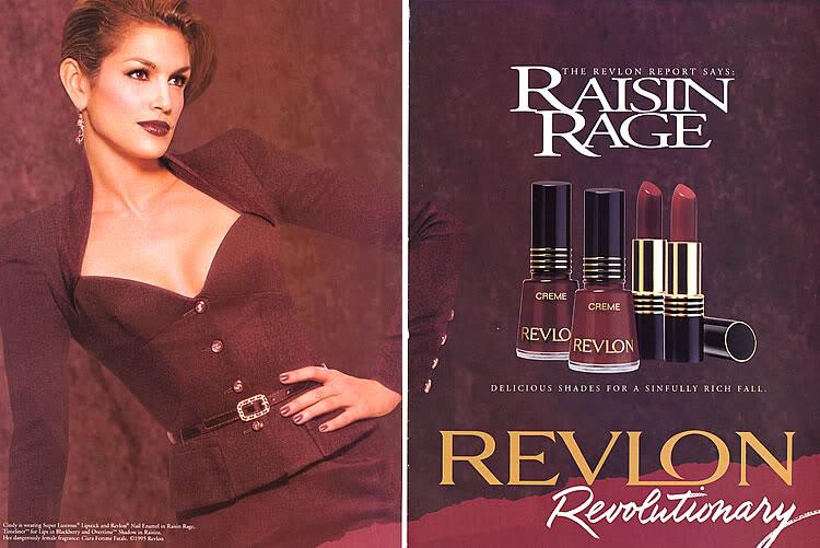 like Revlon s Raisin Rage Revlon Rum Raisin Vs Raisin Rage