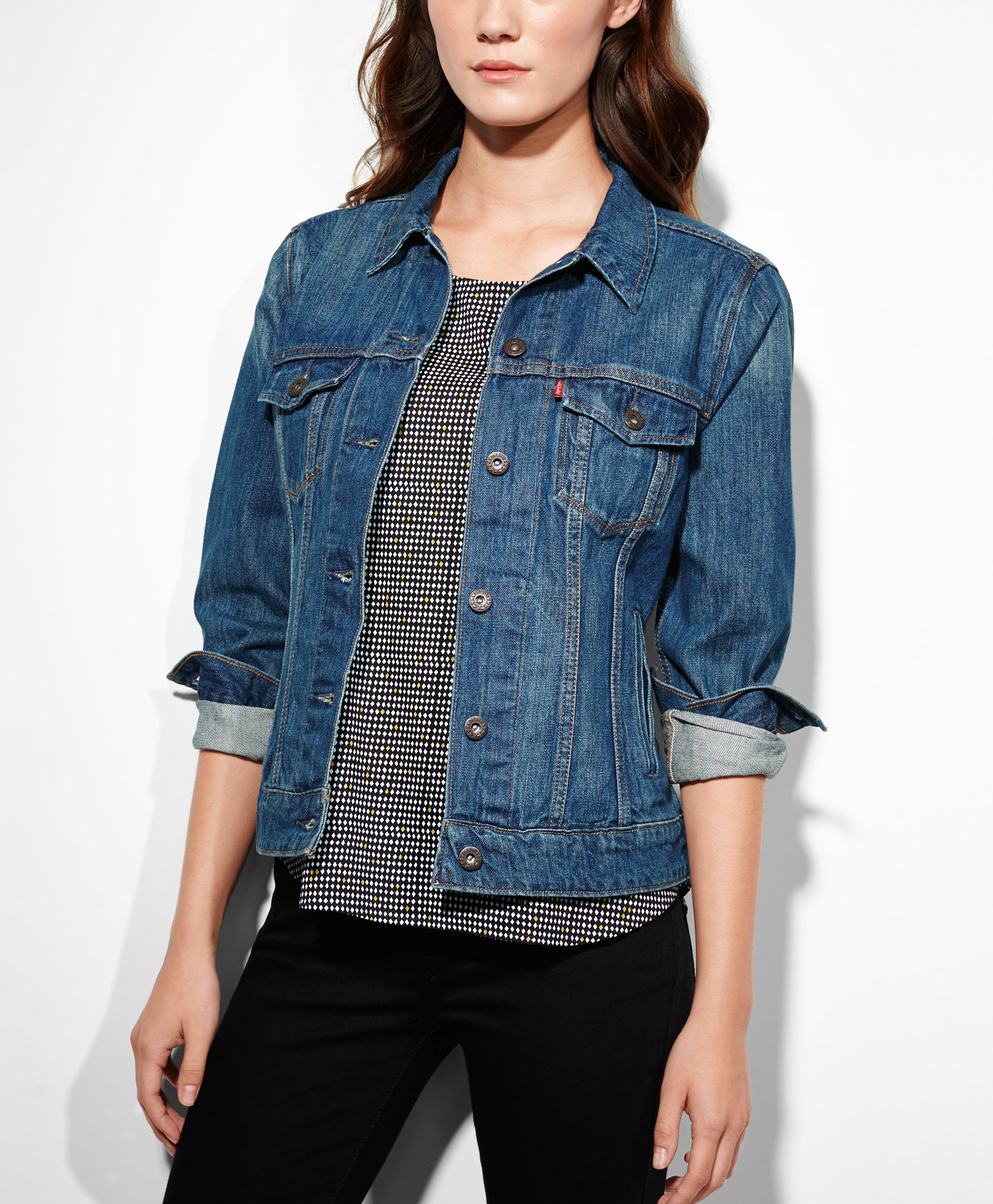 Ladies denim jackets on sale – Novelties of modern fashion photo blog