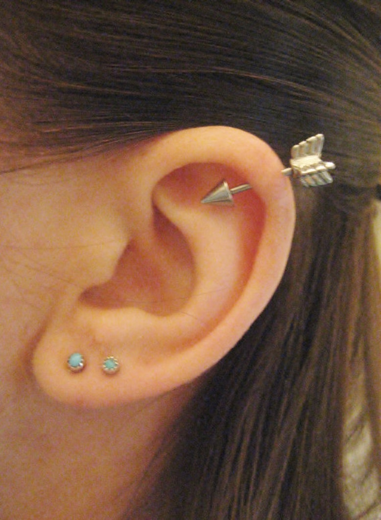 26 Unique Ear Piercing...