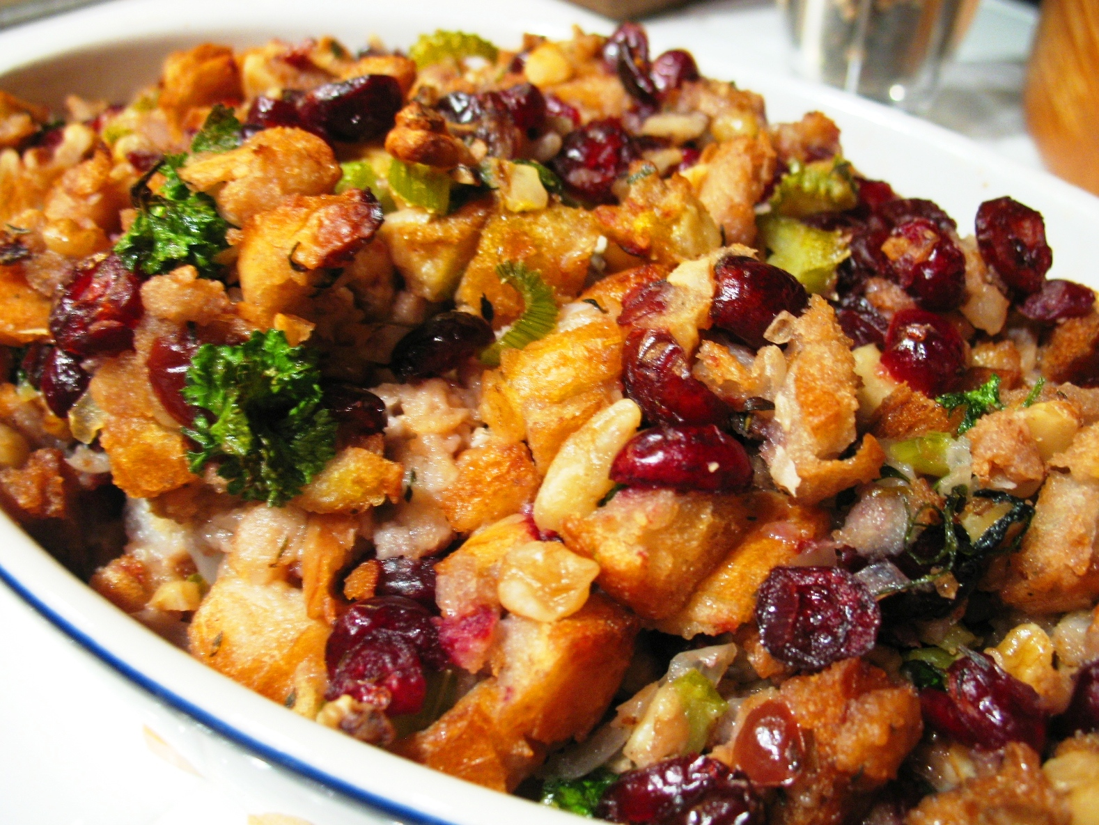 Old fashioned bread stuffing 63