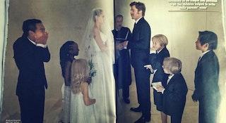 Angelina Jolie & Brad Pitt Wedding Photo Cash Will Go to ...