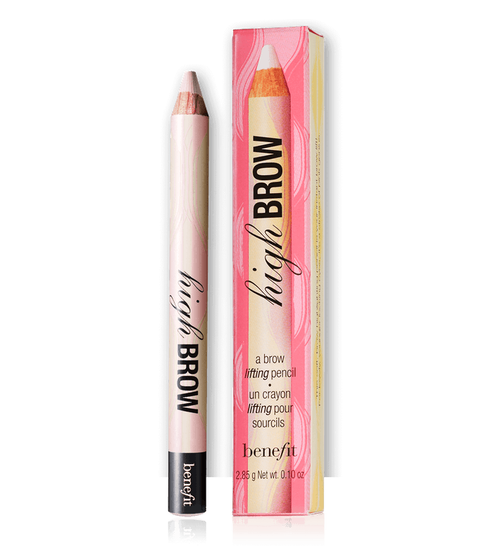 how to use a brow highlighter pencil