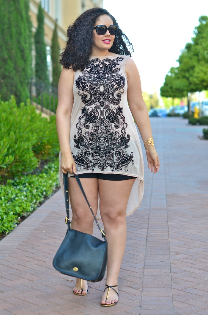 16 Plus Size Women In Short Shorts To Serve As Your ...