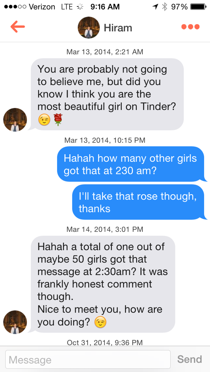 articles decode tinder messages because totally different meaning dating