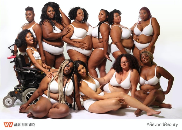 Wear your voice magazine launches beyondbeauty campaign photos