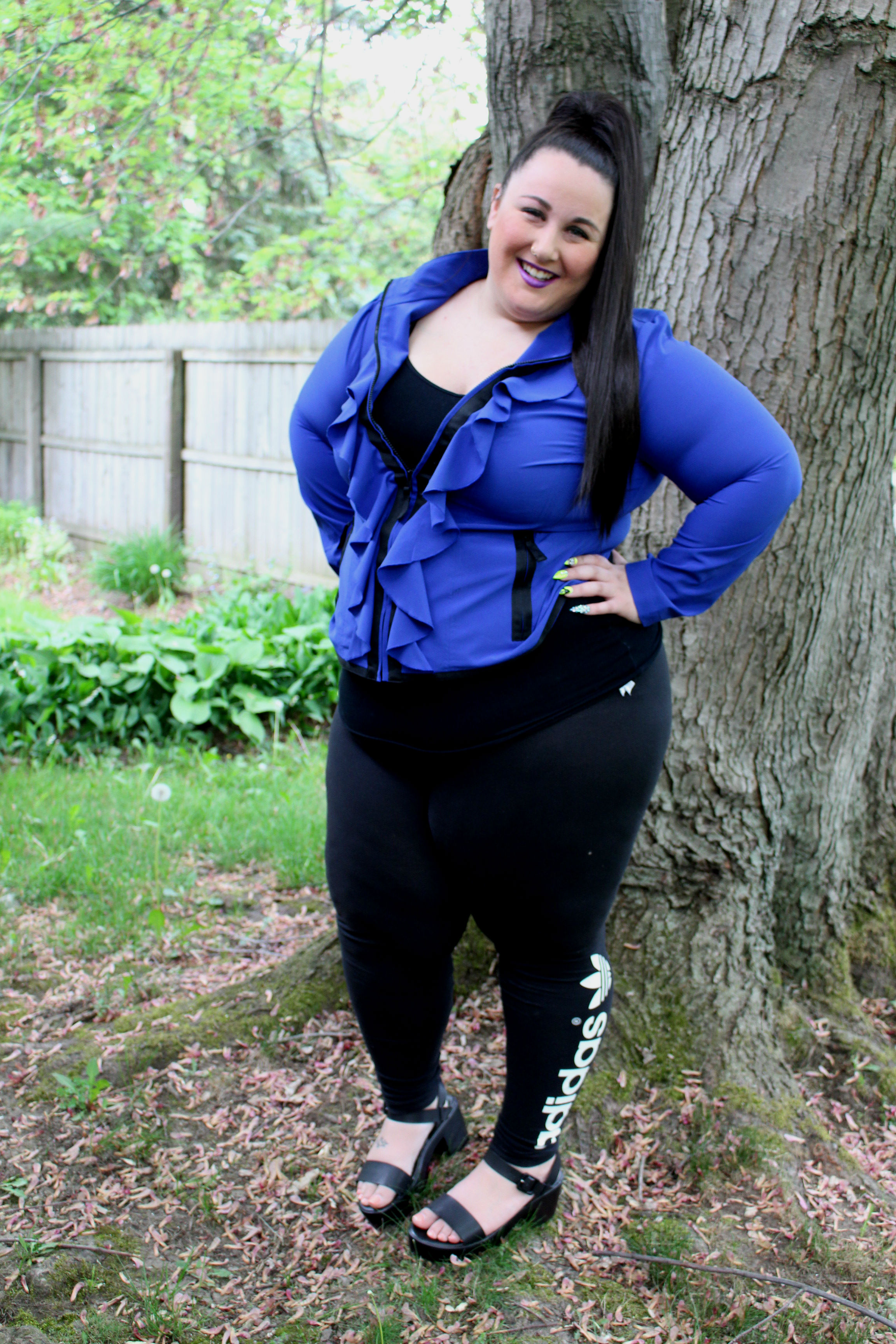 Adidas Plus Size Leggings