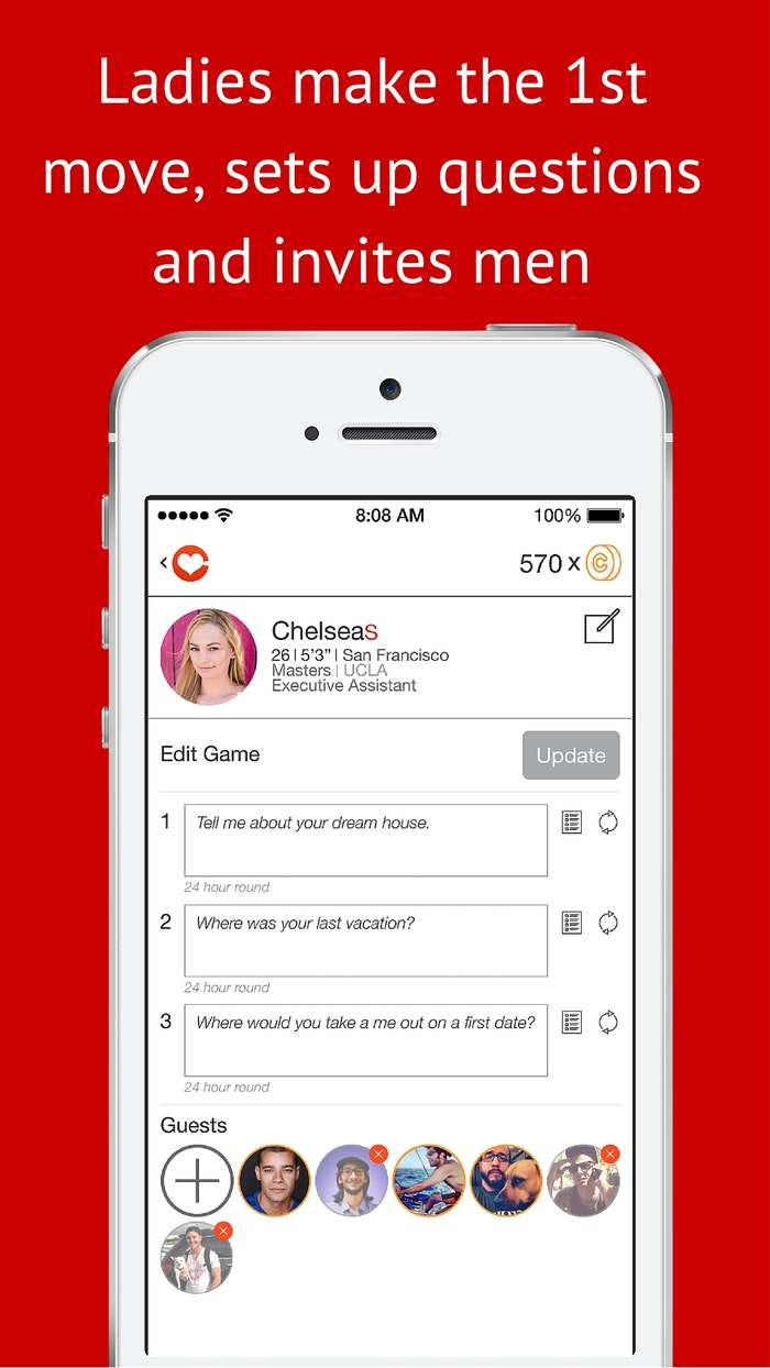 the catch dating app This new dating app aimed for women lets the user pick her bachelors based on their personalities after getting to know them through questions.