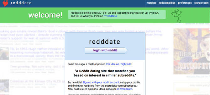 Reddit dating site