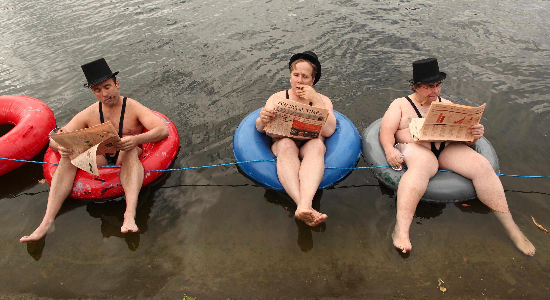 Naked babes and jocks