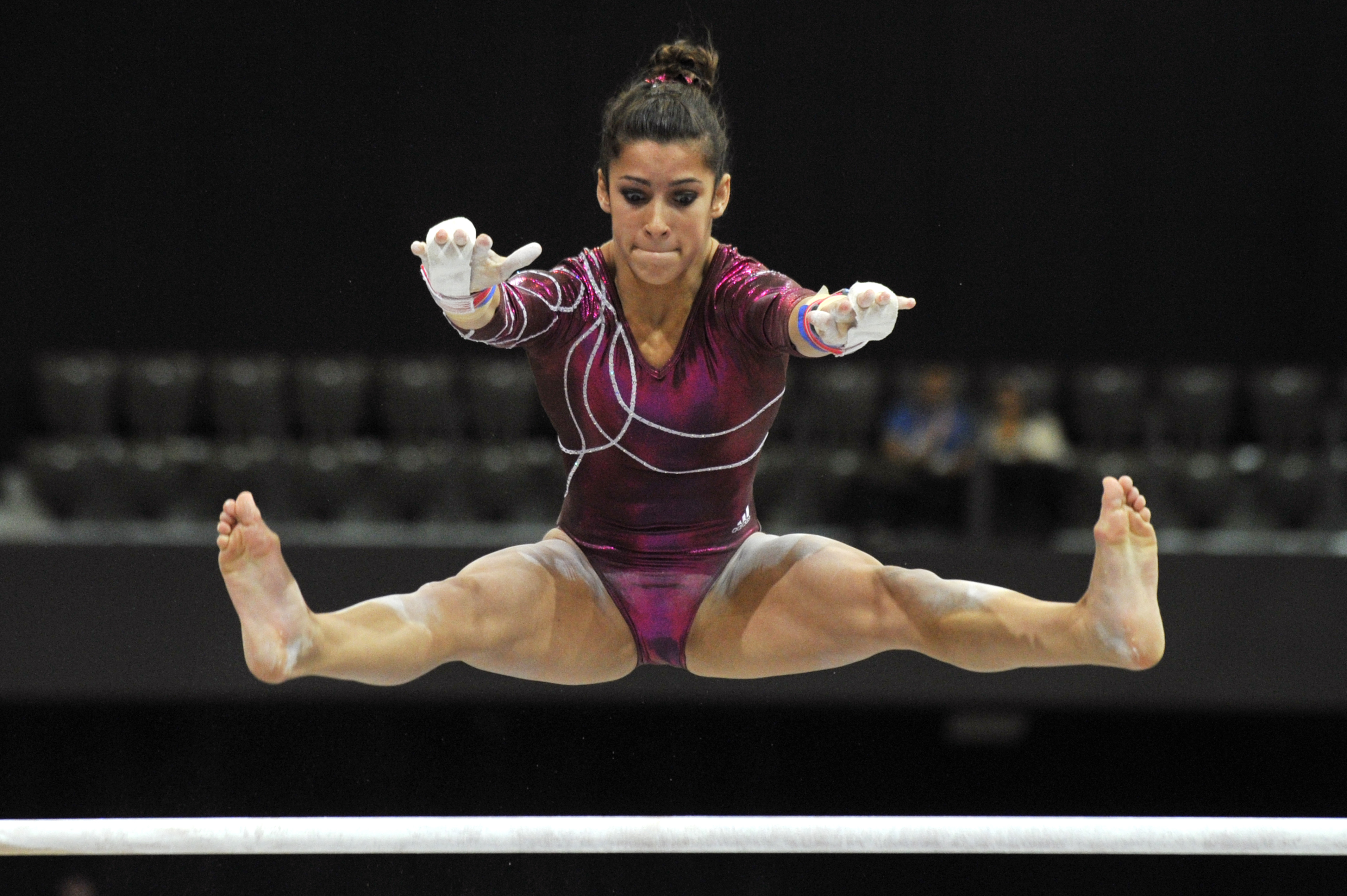 This Throwback Aly Raisman Floor Routine Proves She Was