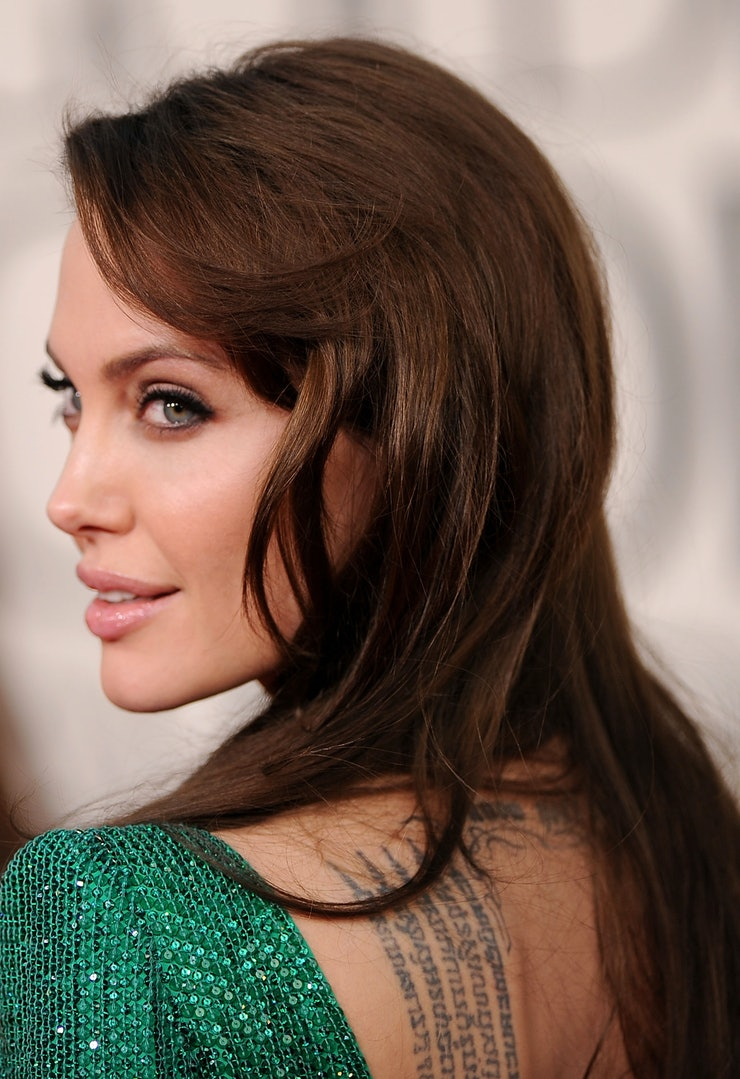 She looks painfully average i think when she was in skins her figure - 3 Angelina Jolie
