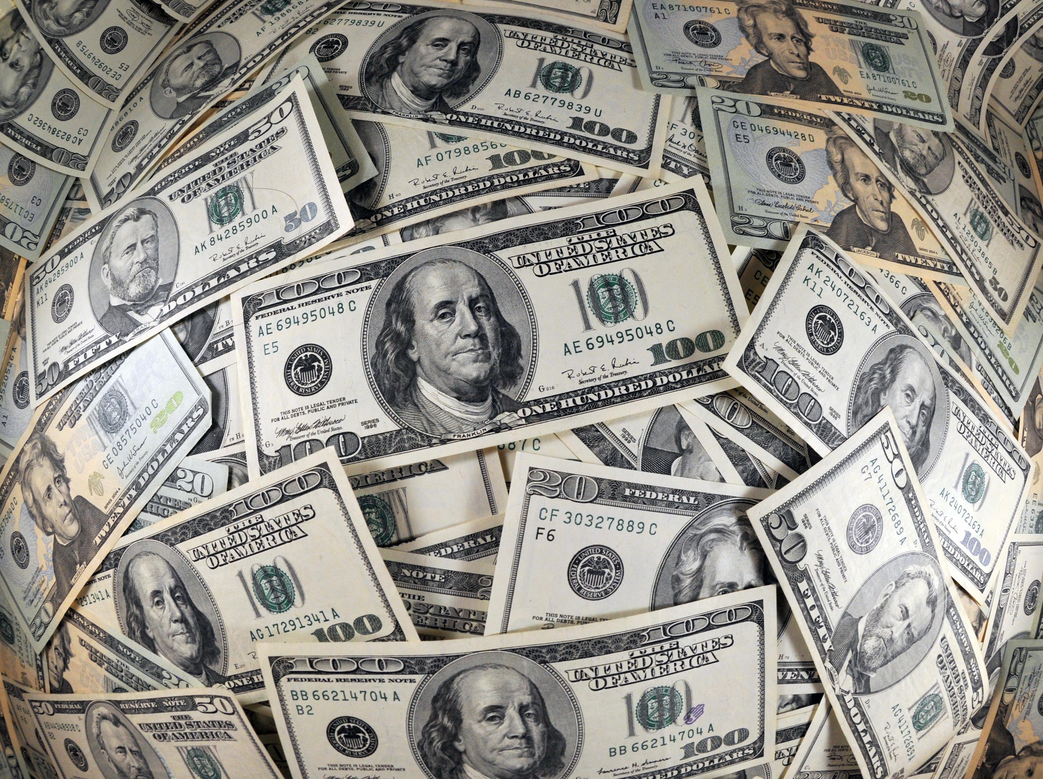 доллары картинка при складывании любую