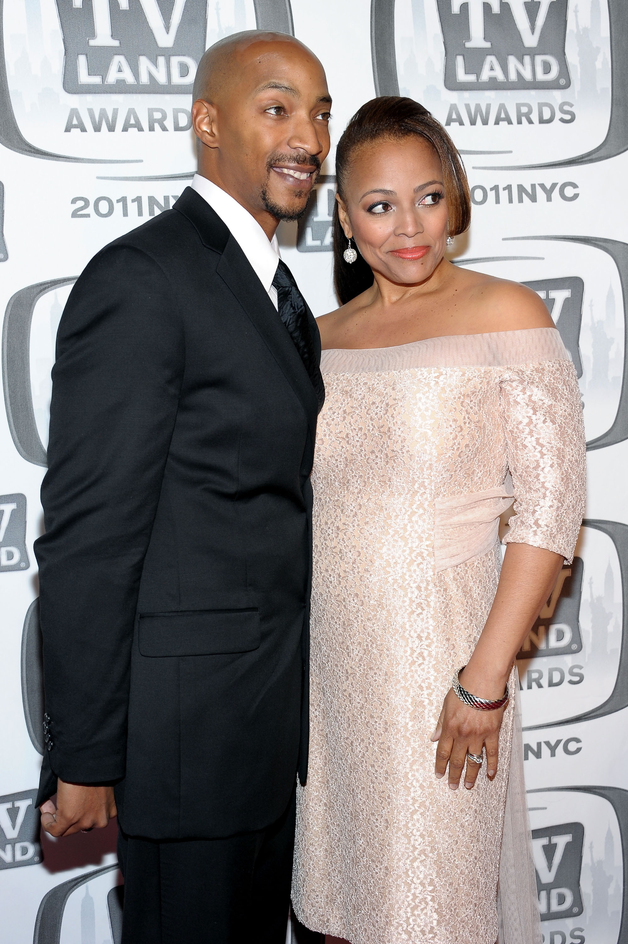 Kim Fields with Husband Christopher Morgan