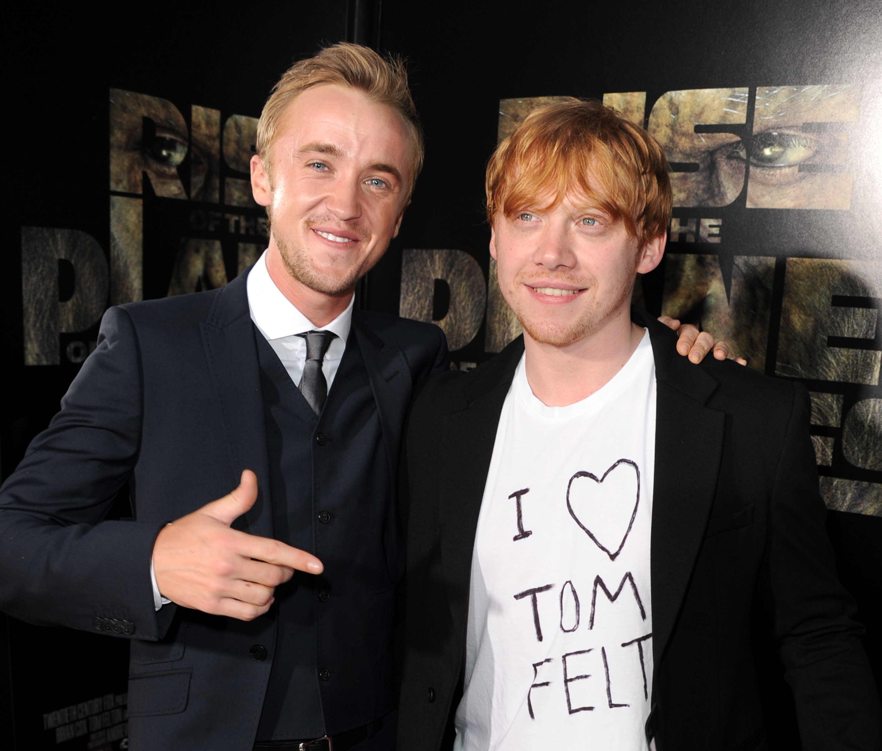Rupert Grint of Harry Potter makes love in front of his parents 28.04.2010 37