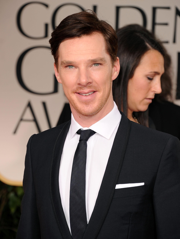 Benedict Cumberbatch Smile