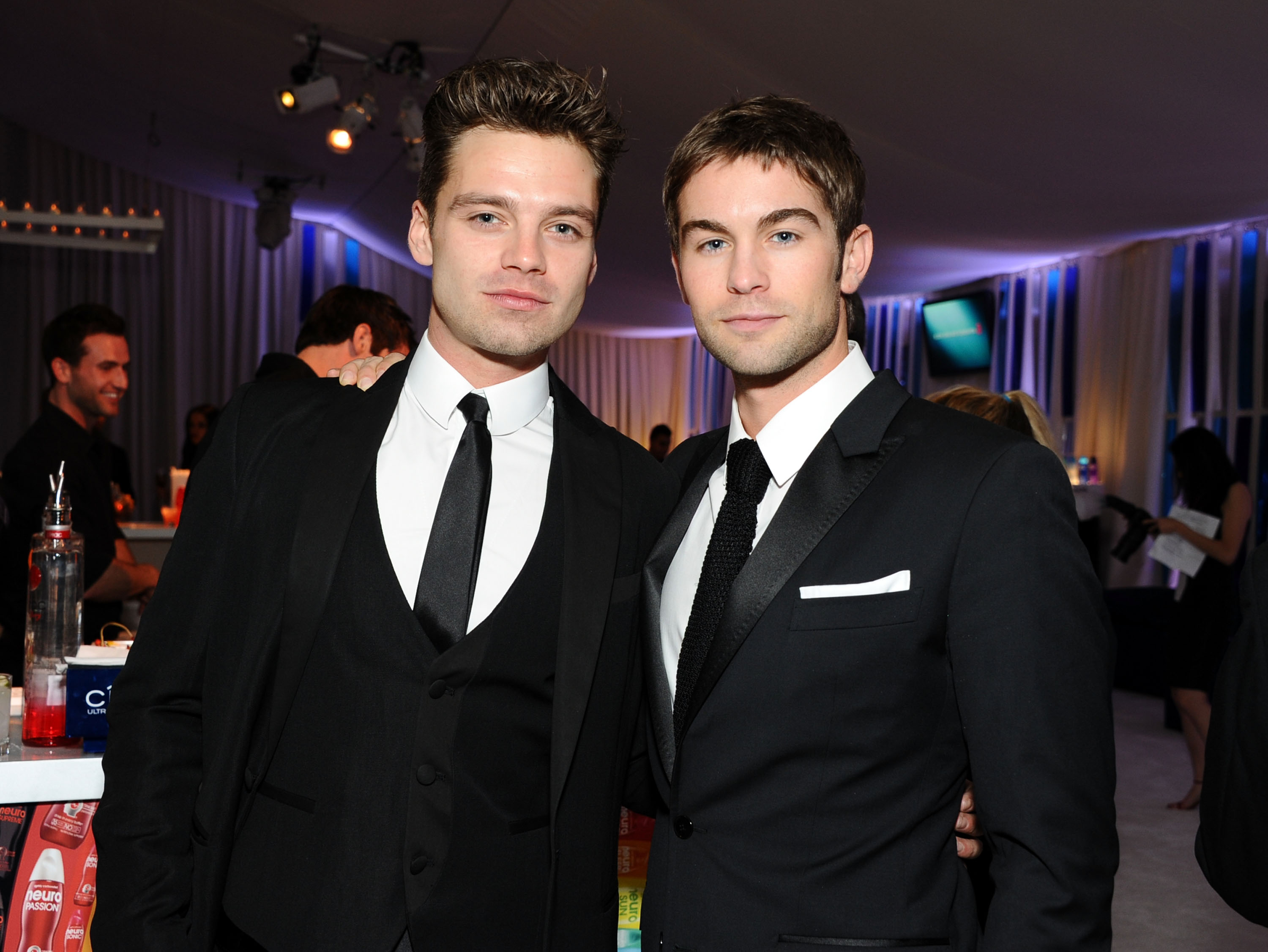 Chace Crawford and sebastian stan