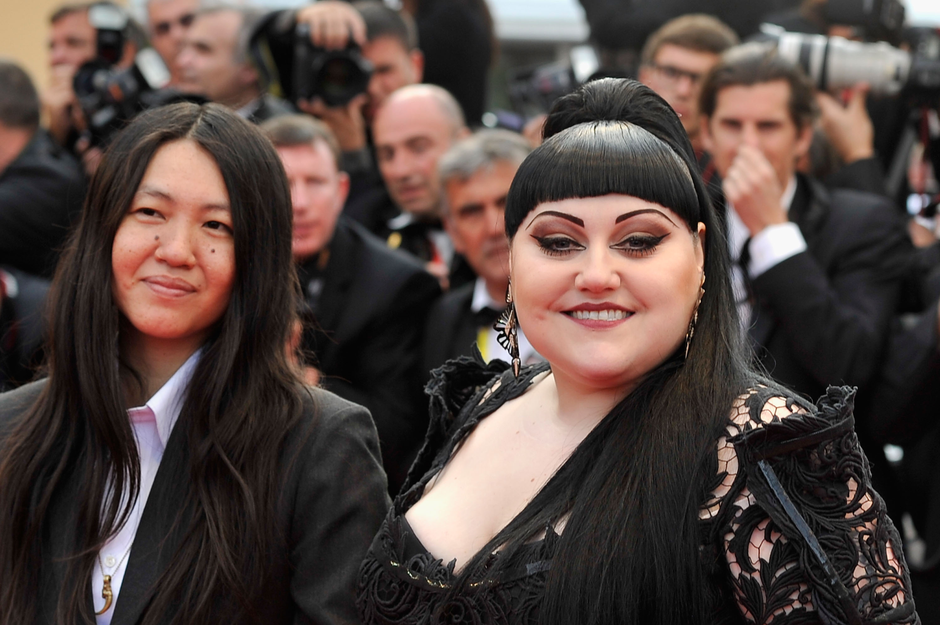 Image result for Kristin Ogata ve Beth Ditto