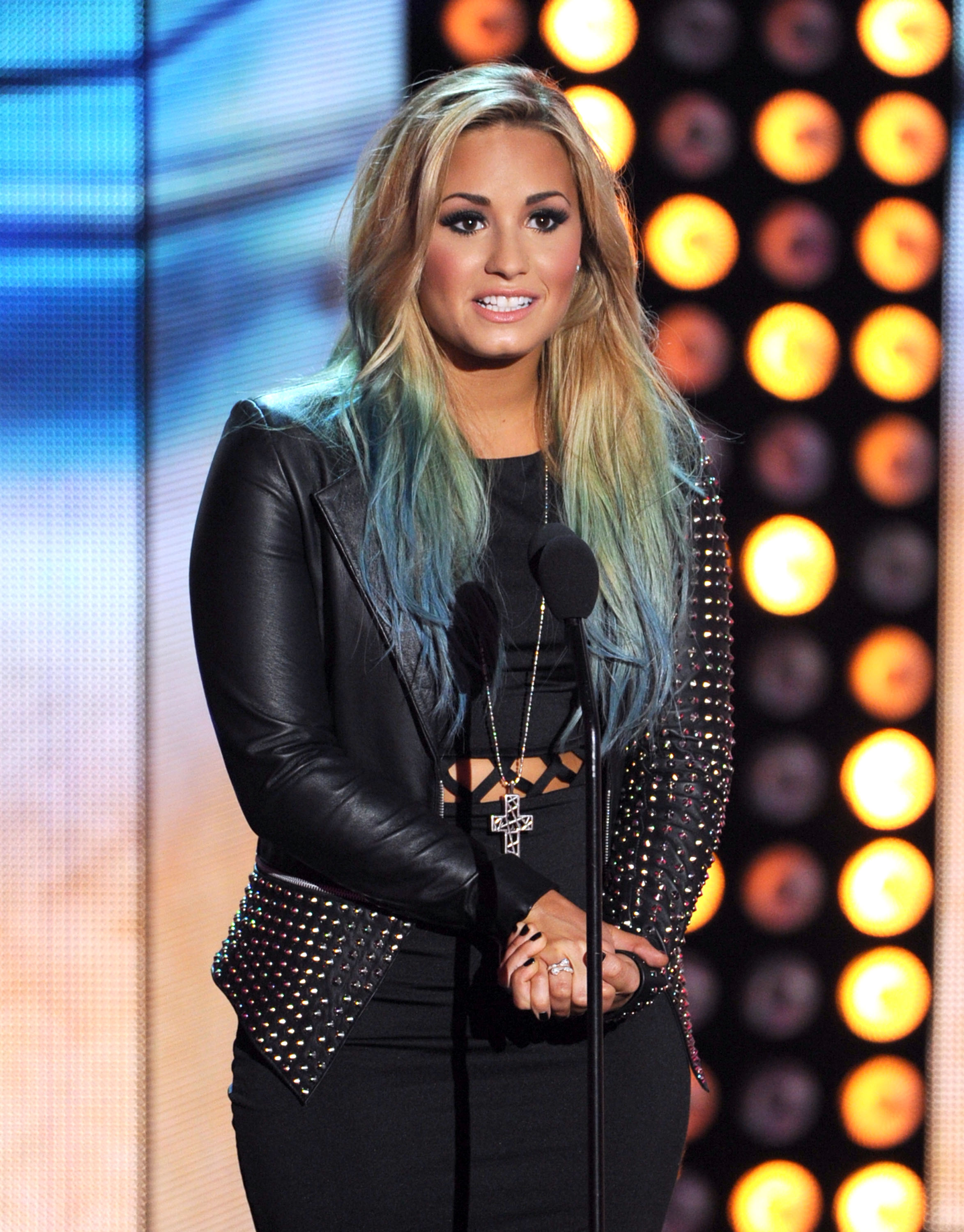 Demi Lovato Launches Colored Hair Extensions Line So Now You Can