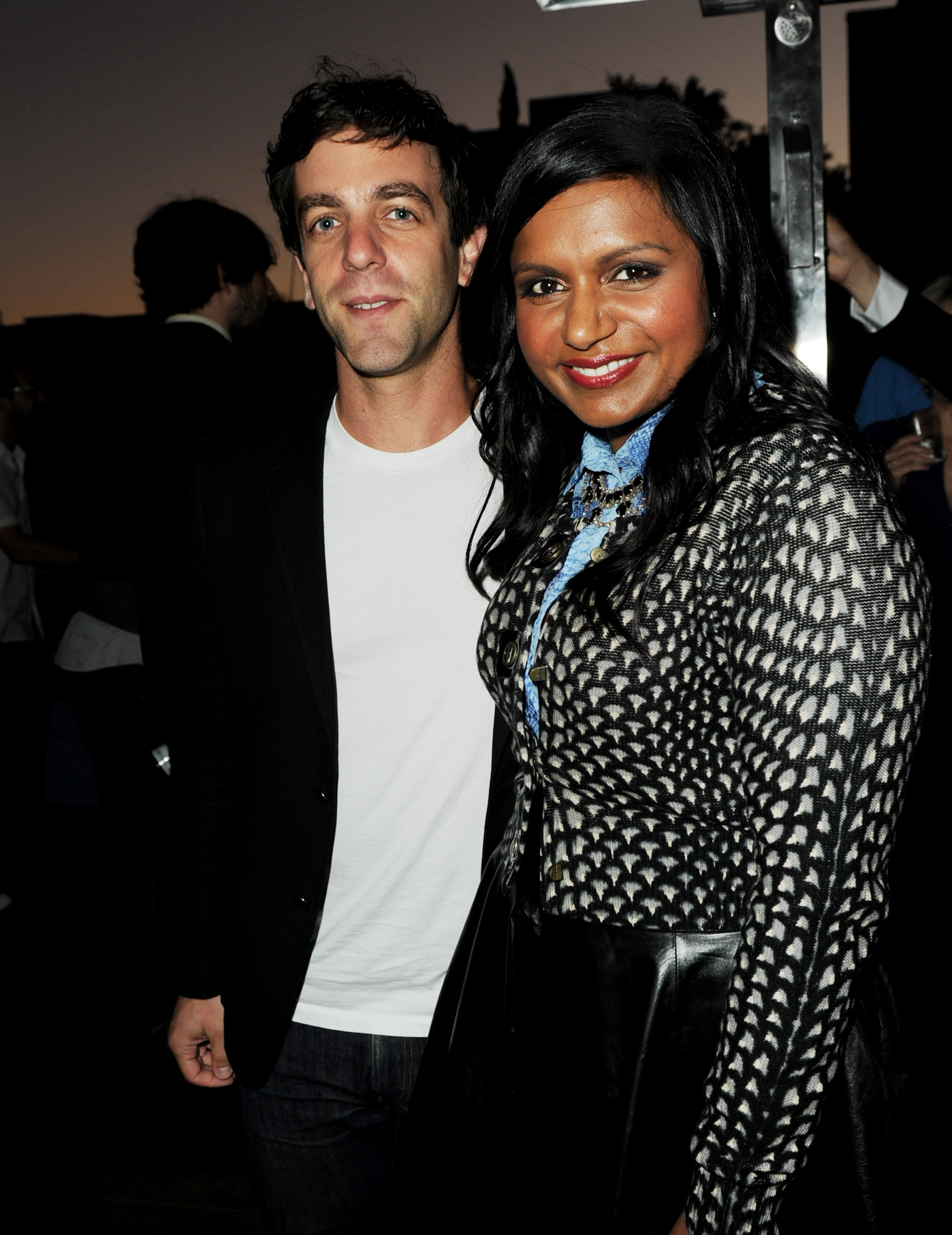 Bj Novak Reveals What He Really Thinks About Mindy Kaling And What Its Like Texting With Her