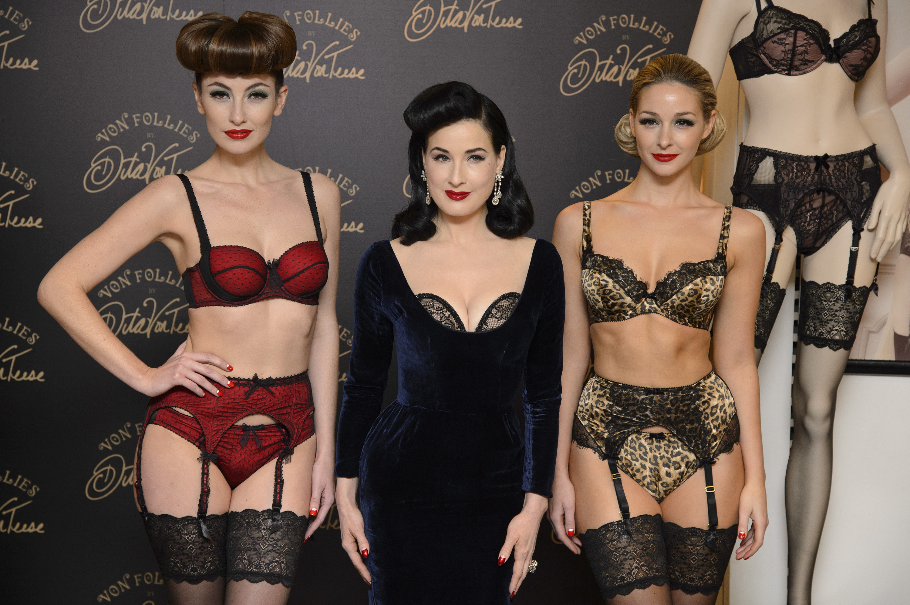 6789f3a3e729 Dita Von Teese's New Lingerie Collection is Both Sexy and Affordable