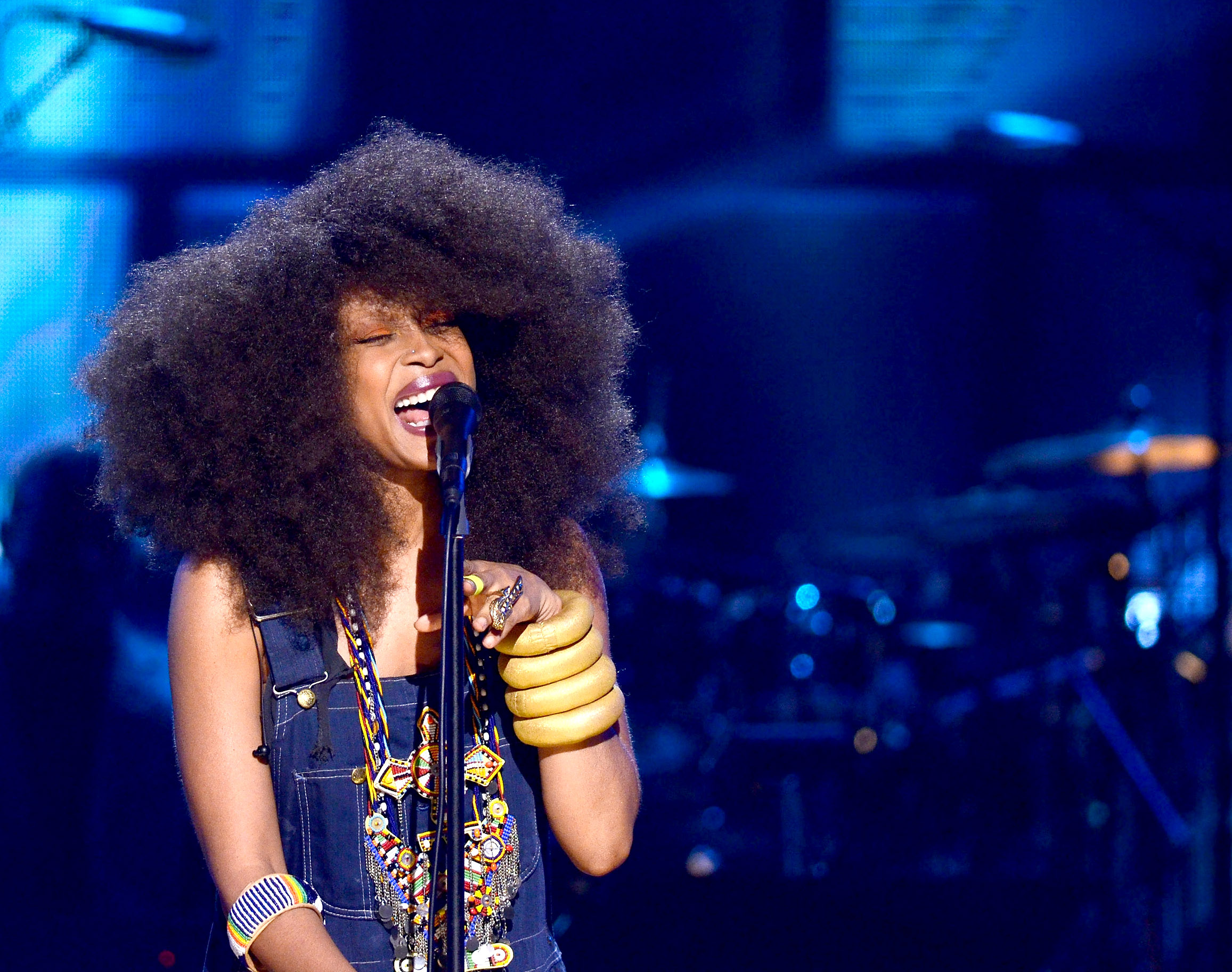 9 times erykah badu was my hair idol from her blonde for Erykah badu real tattoos