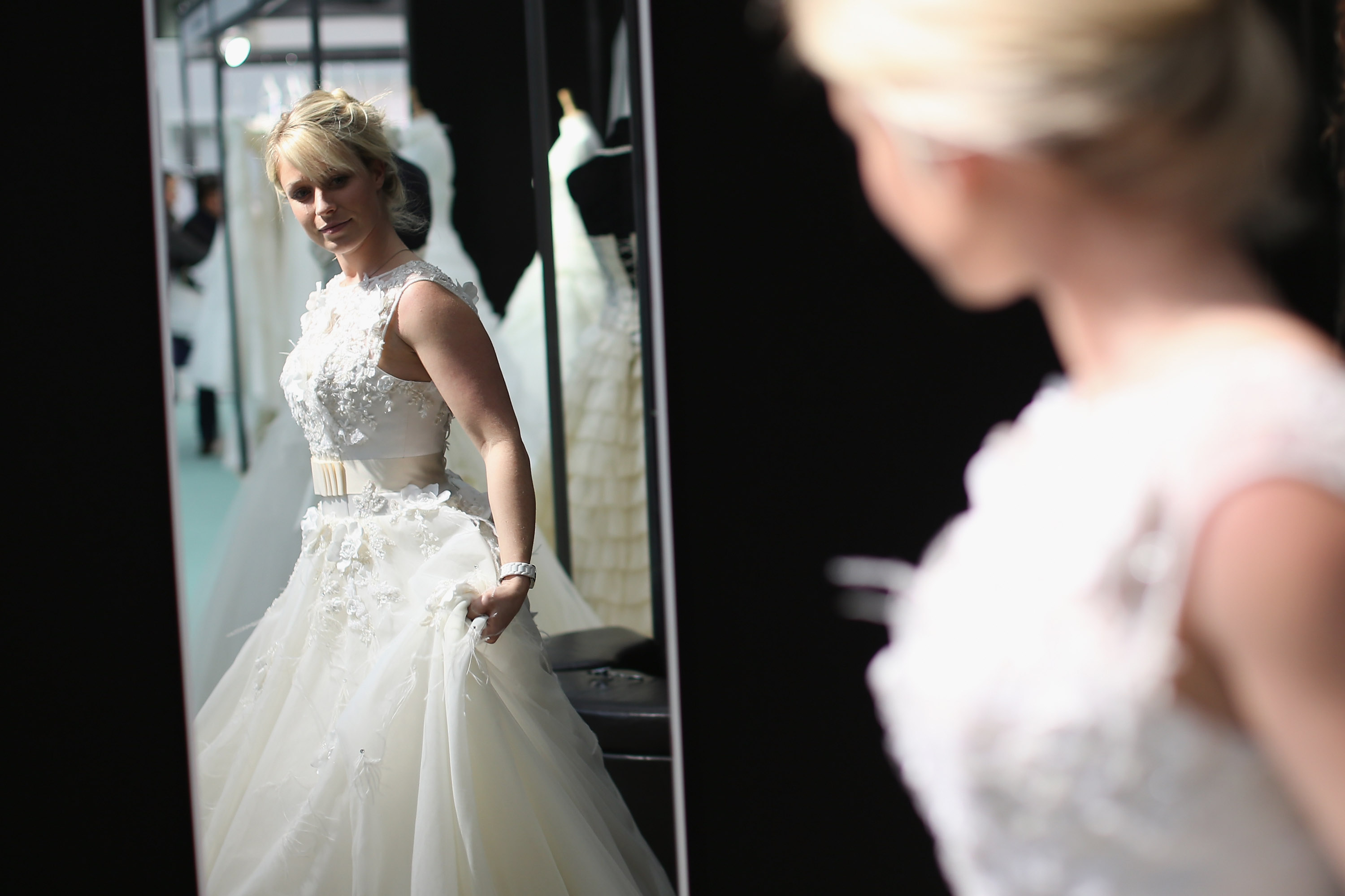 5 Wedding Dresses Made Of Books Ping Bags And Basically Everything Else Except Tulle Lace