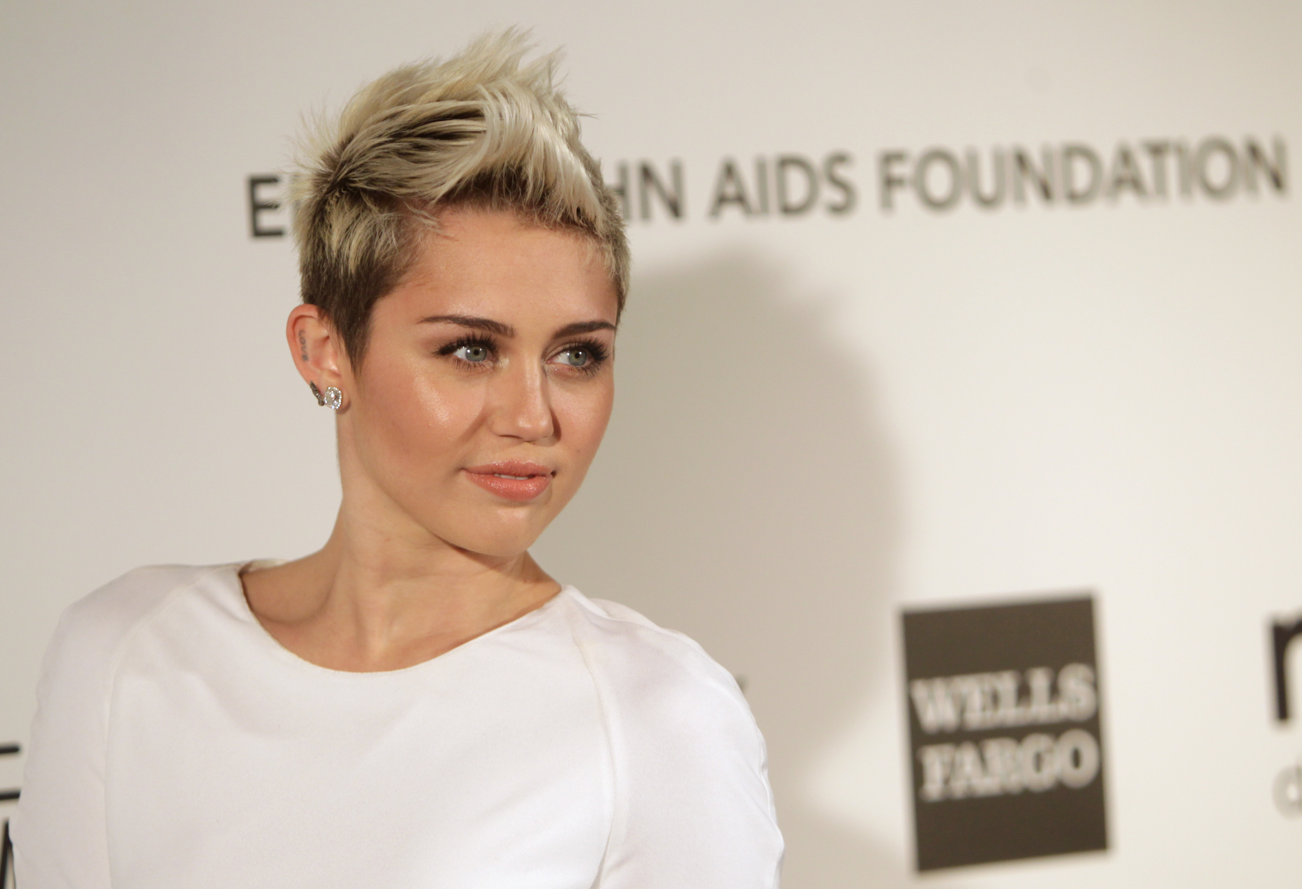 Miley Cyrus Naked and Topless Pics: Singer Goes Nude for V
