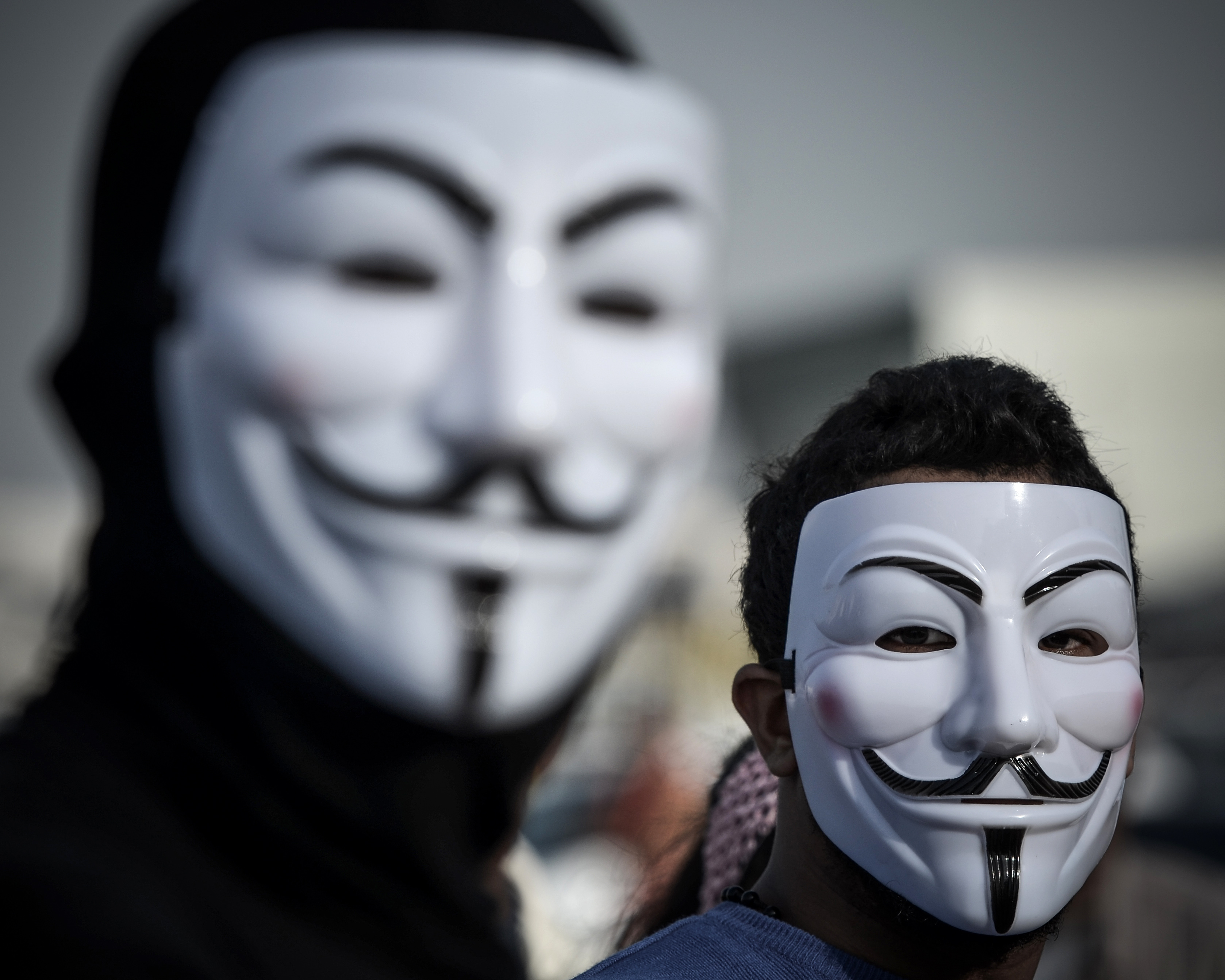 What Do Anonymous' Masks Mean? They're Steeped In ...