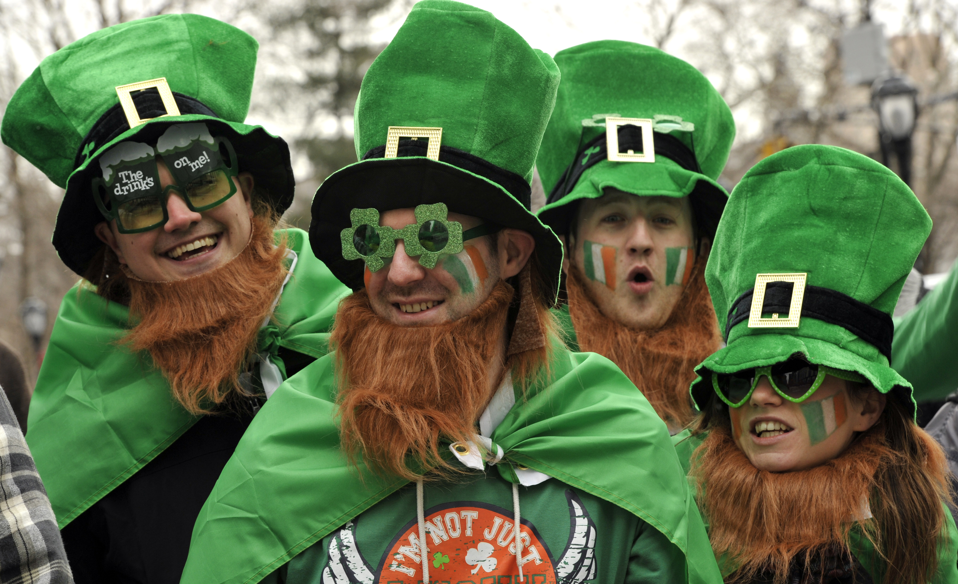 Image result for Today's St Patrick's Day celebrations