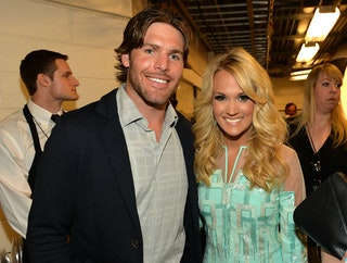 how did mike fisher and carrie underwood meet gre