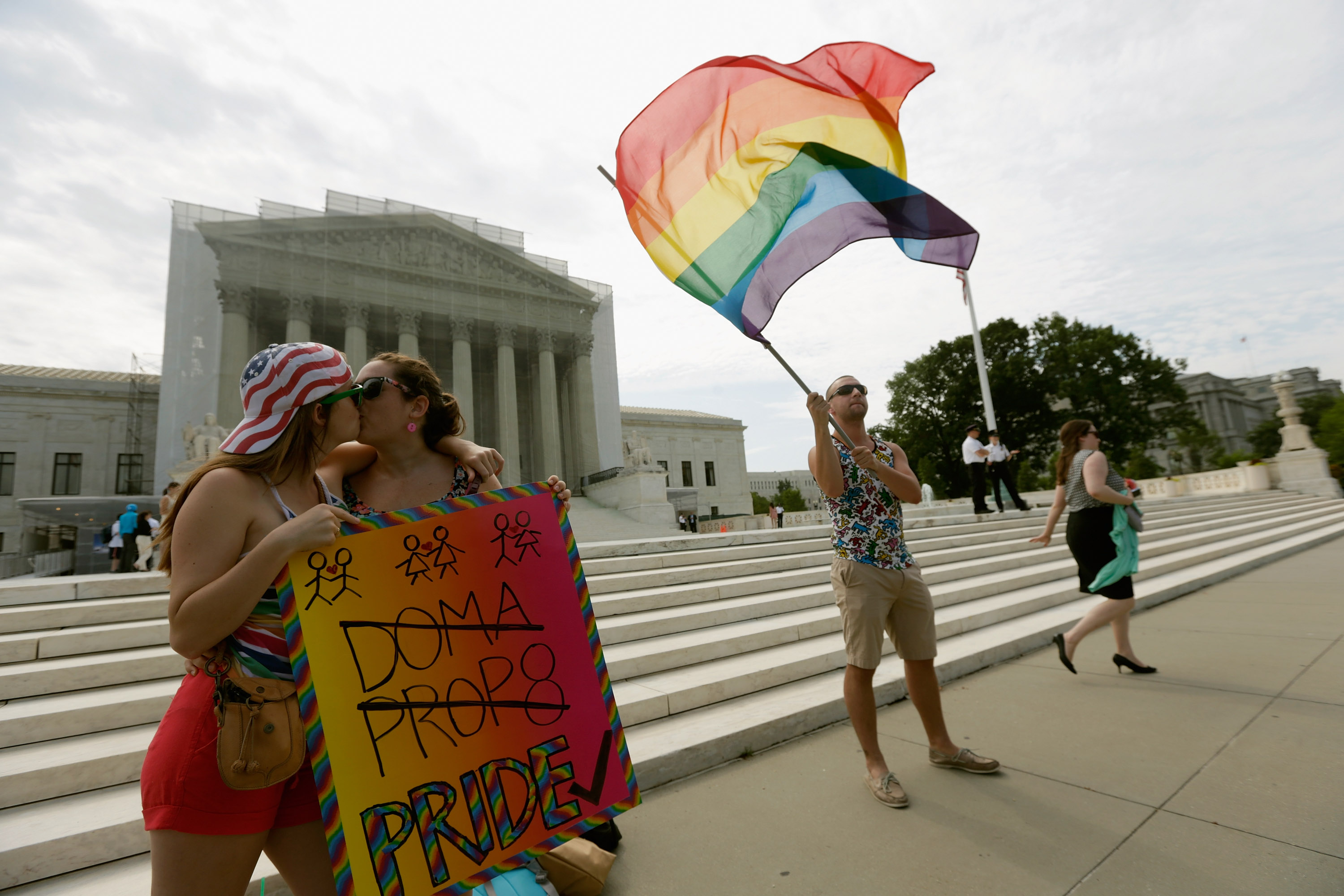 doma unconstitutional This is the first federal law ever declared unconstitutional by an appellate court for discriminating against gays and lesbians, and it's almost certainly headed for the supreme court.