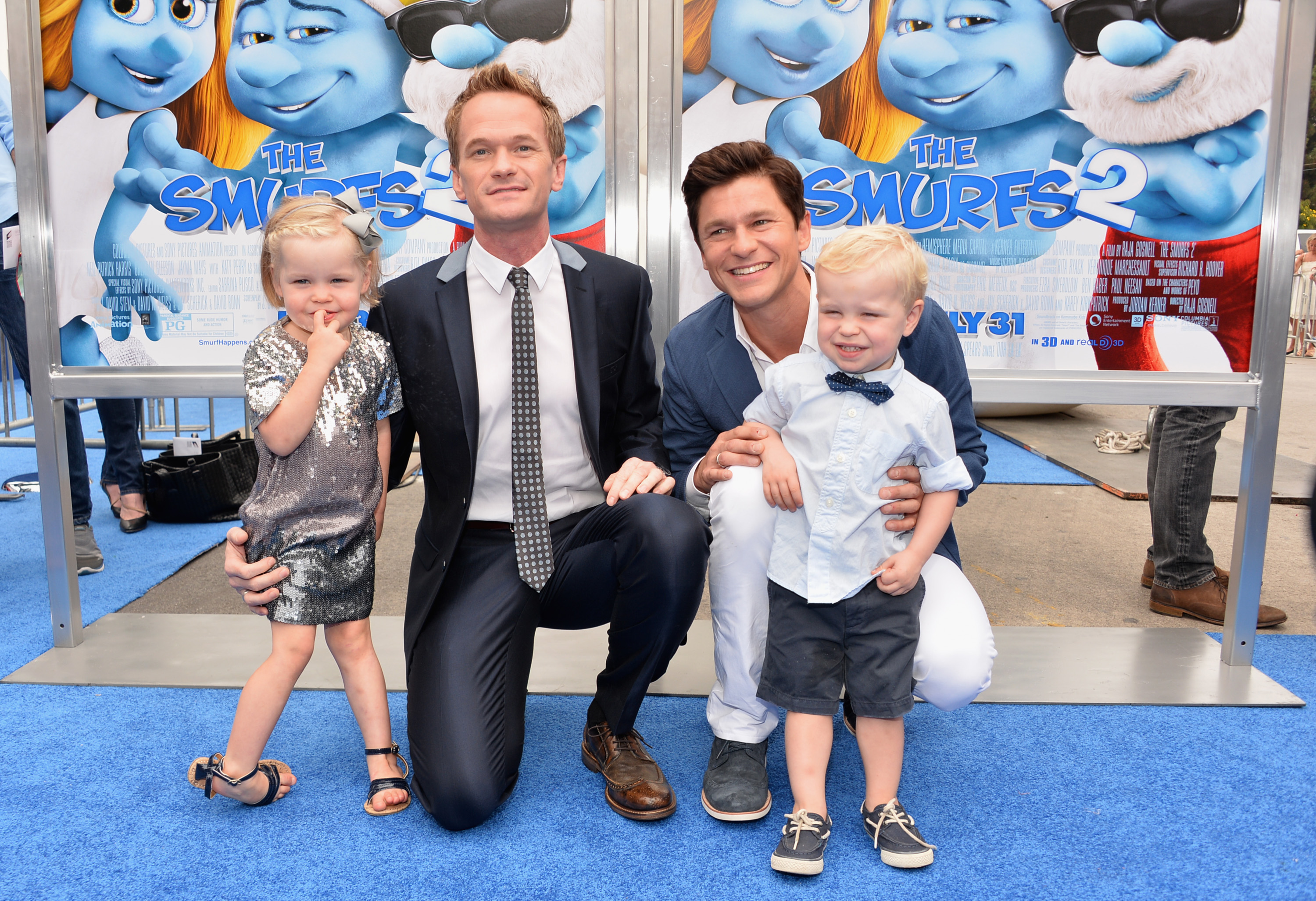 neil patrick harris' family halloween costume is the perfect