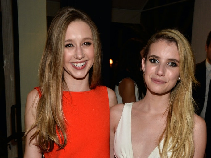 Emma Roberts And Taissa Farmiga