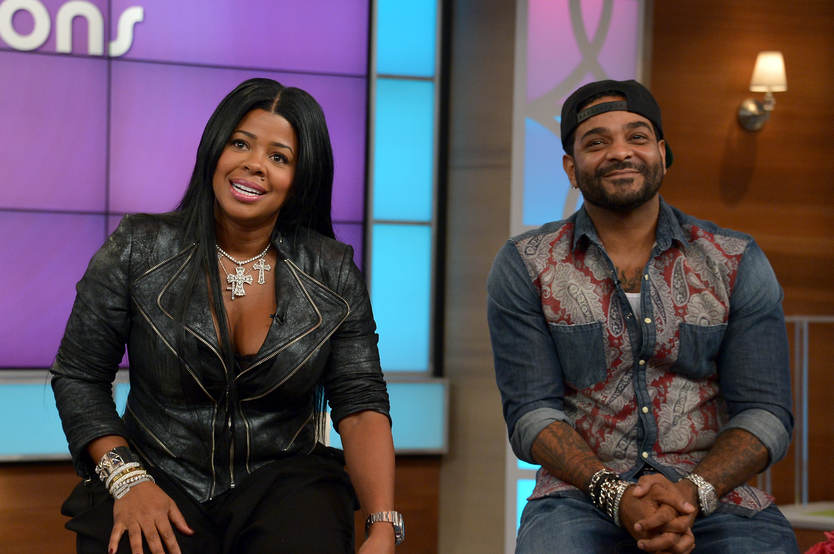 are jim jones chrissy lampkin married yet they re still defending