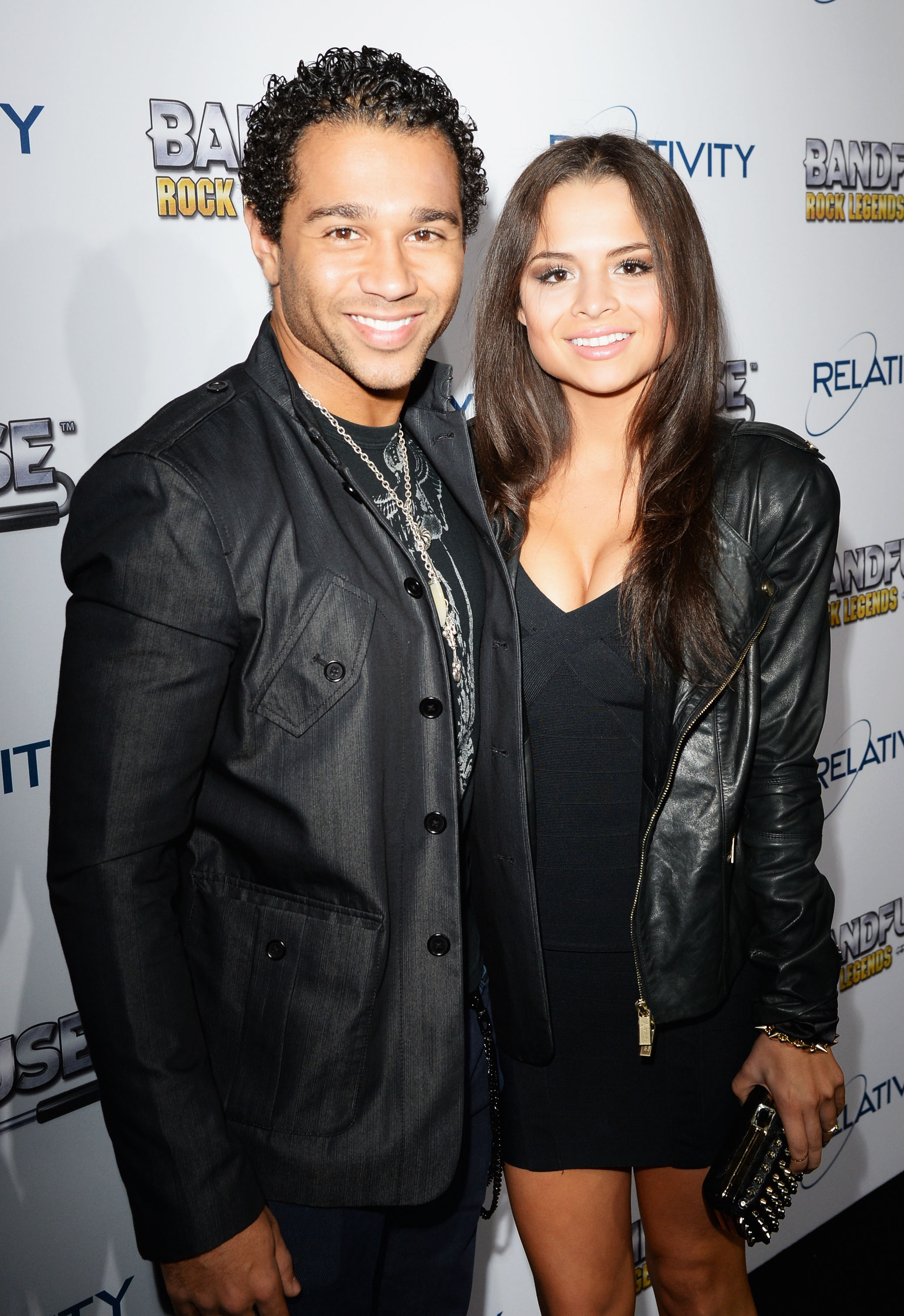 Corbin Bleu And His Sister