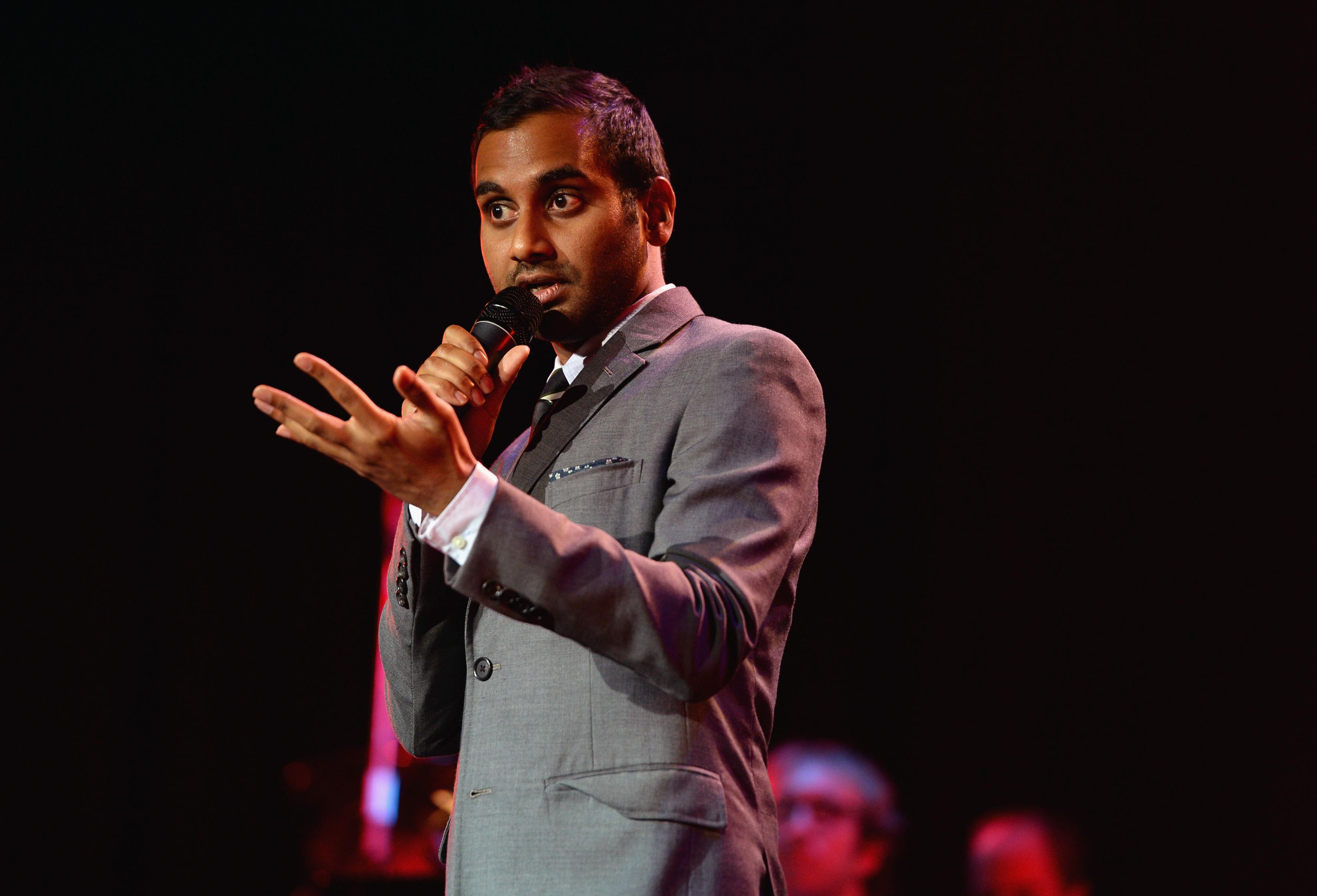 Aziz ansari dating stand up