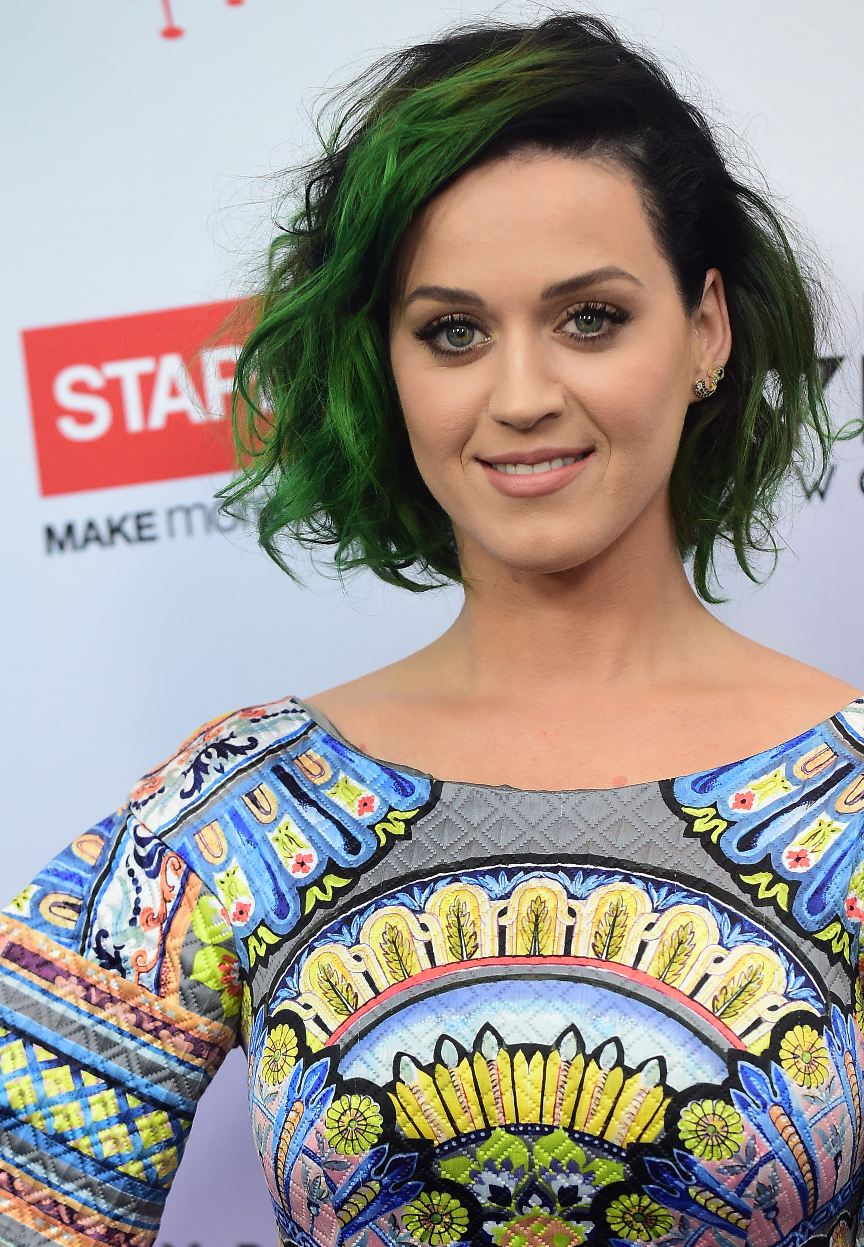 Dark Purple Hair Katy Perry