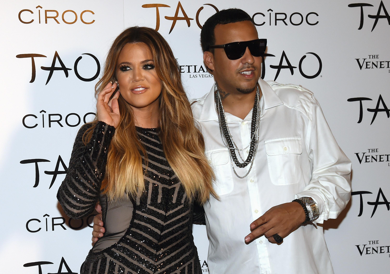 Kardashian dating rapper