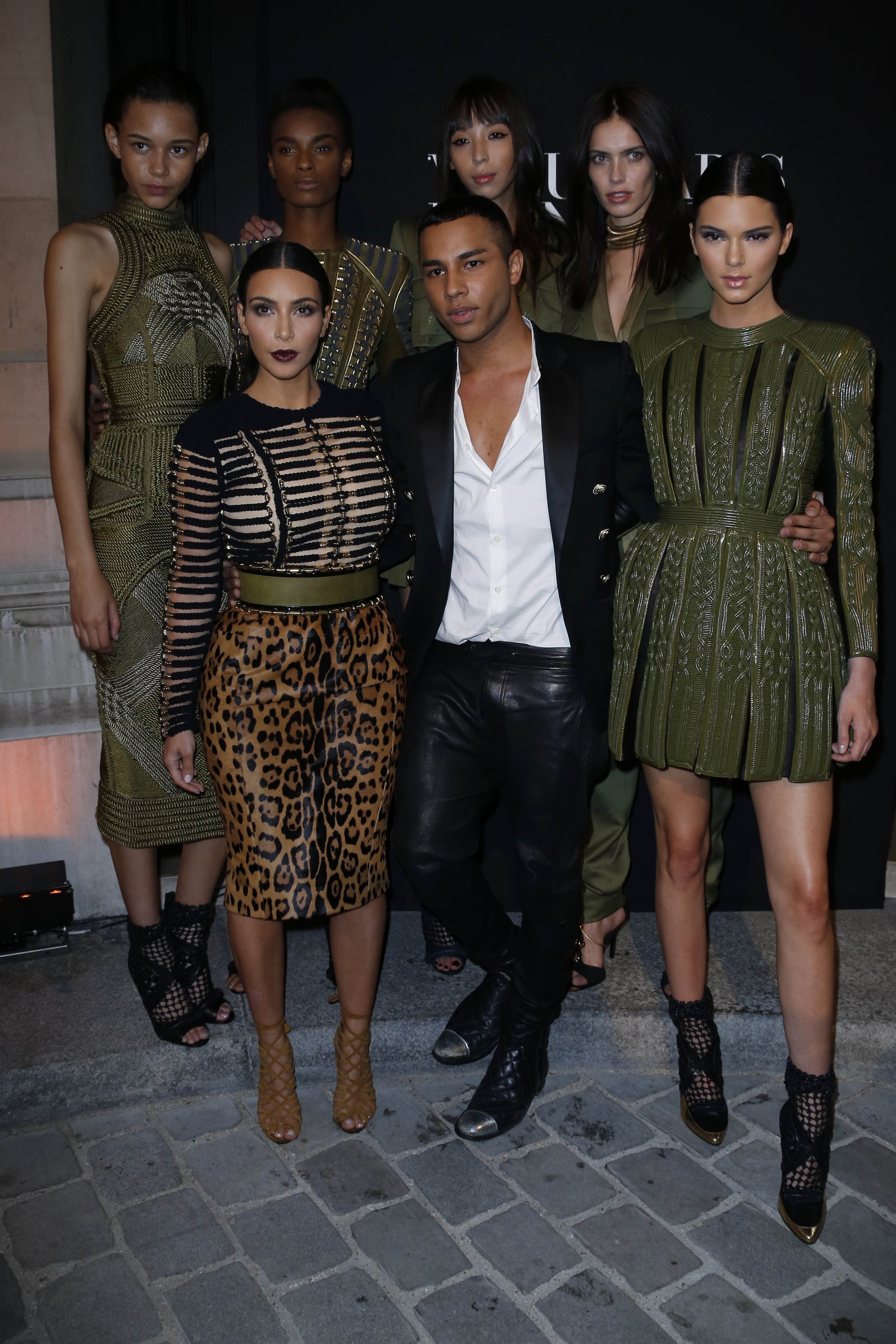 To acquire Rousteing olivier out magazine may pictures trends
