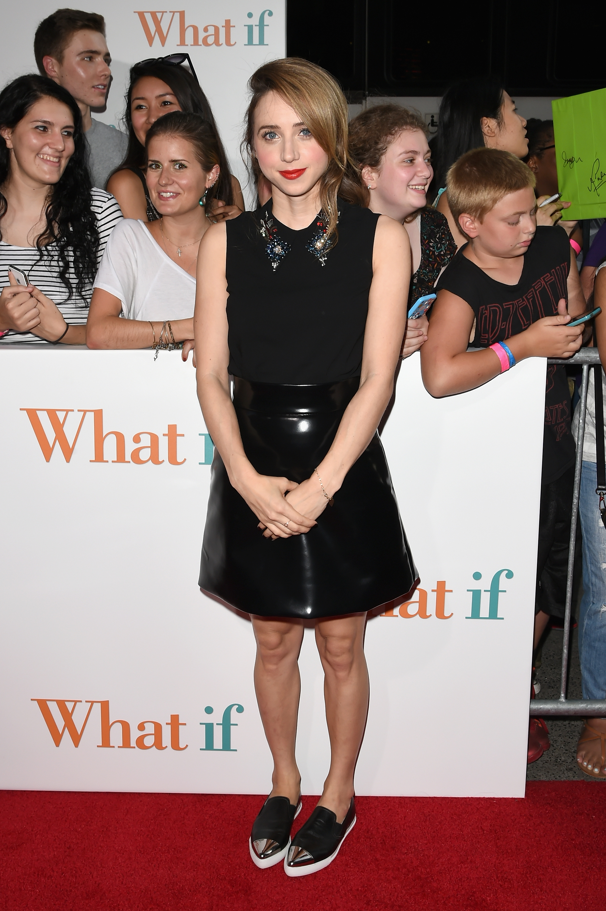 10ce5740e747 For  What If  NYC Premiere