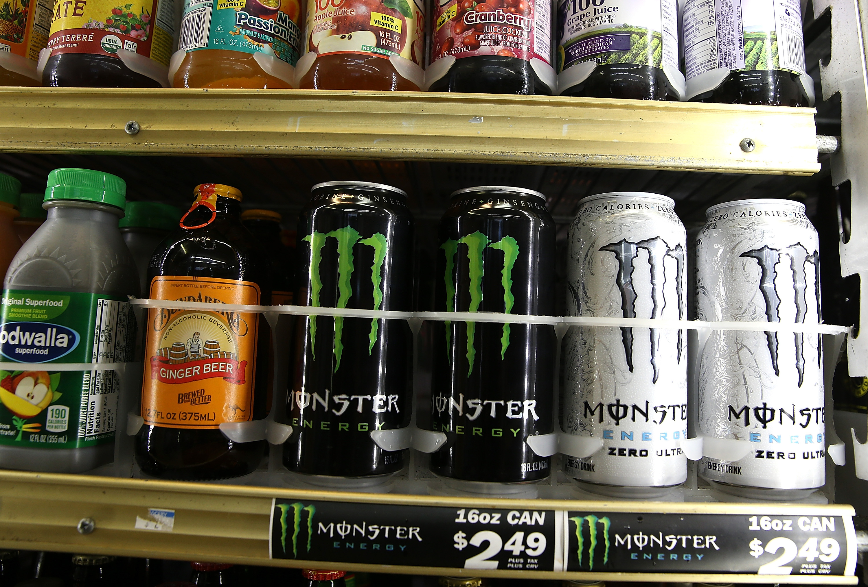 Woman proves that monster energy drinks are the work of satan she woman proves that monster energy drinks are the work of satan she is probably right video buycottarizona Choice Image