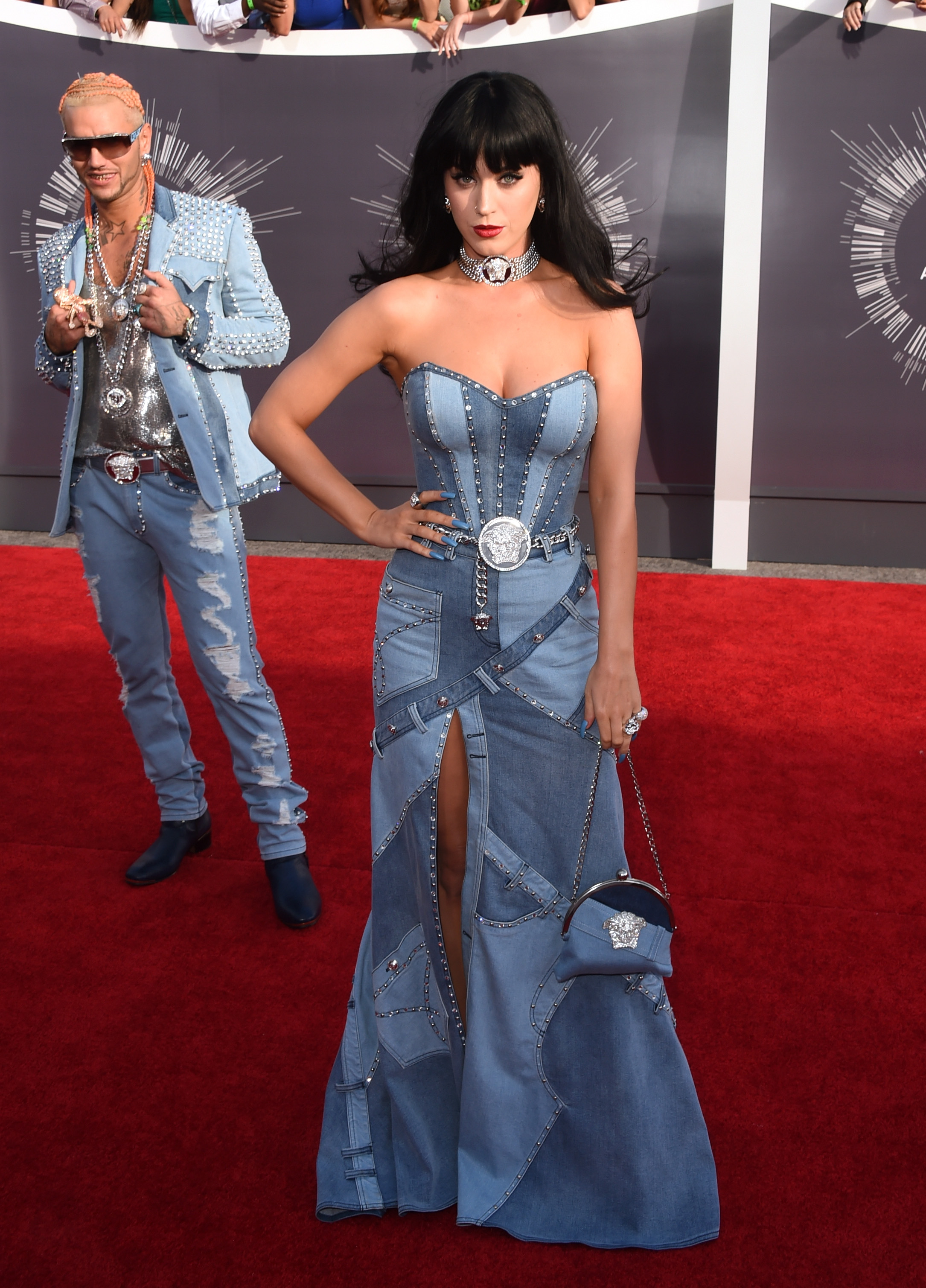 The Denim Dress Showdown Blake Lively Vs Katy Perry Vs Britney Spears