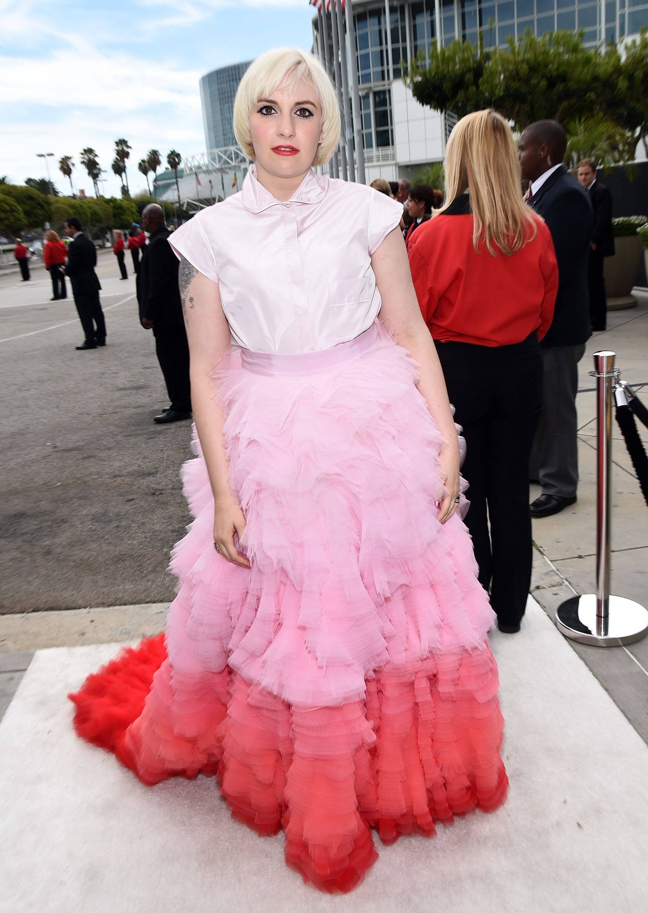 Dunham Lena emmys pictures recommend dress in winter in 2019