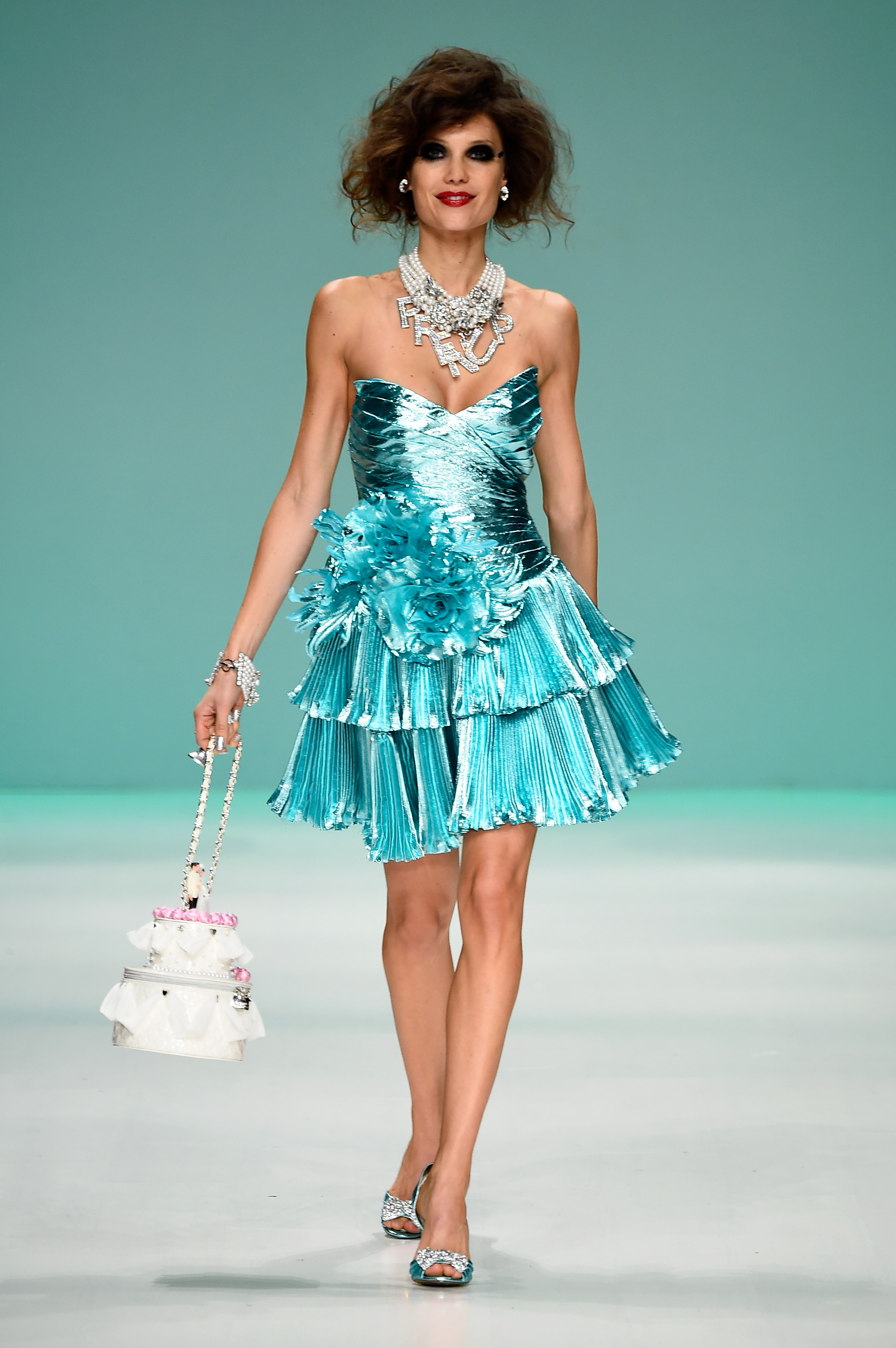 The Betsey Johnson Spring/Summer 2015 Runway Show Featured A Same ...