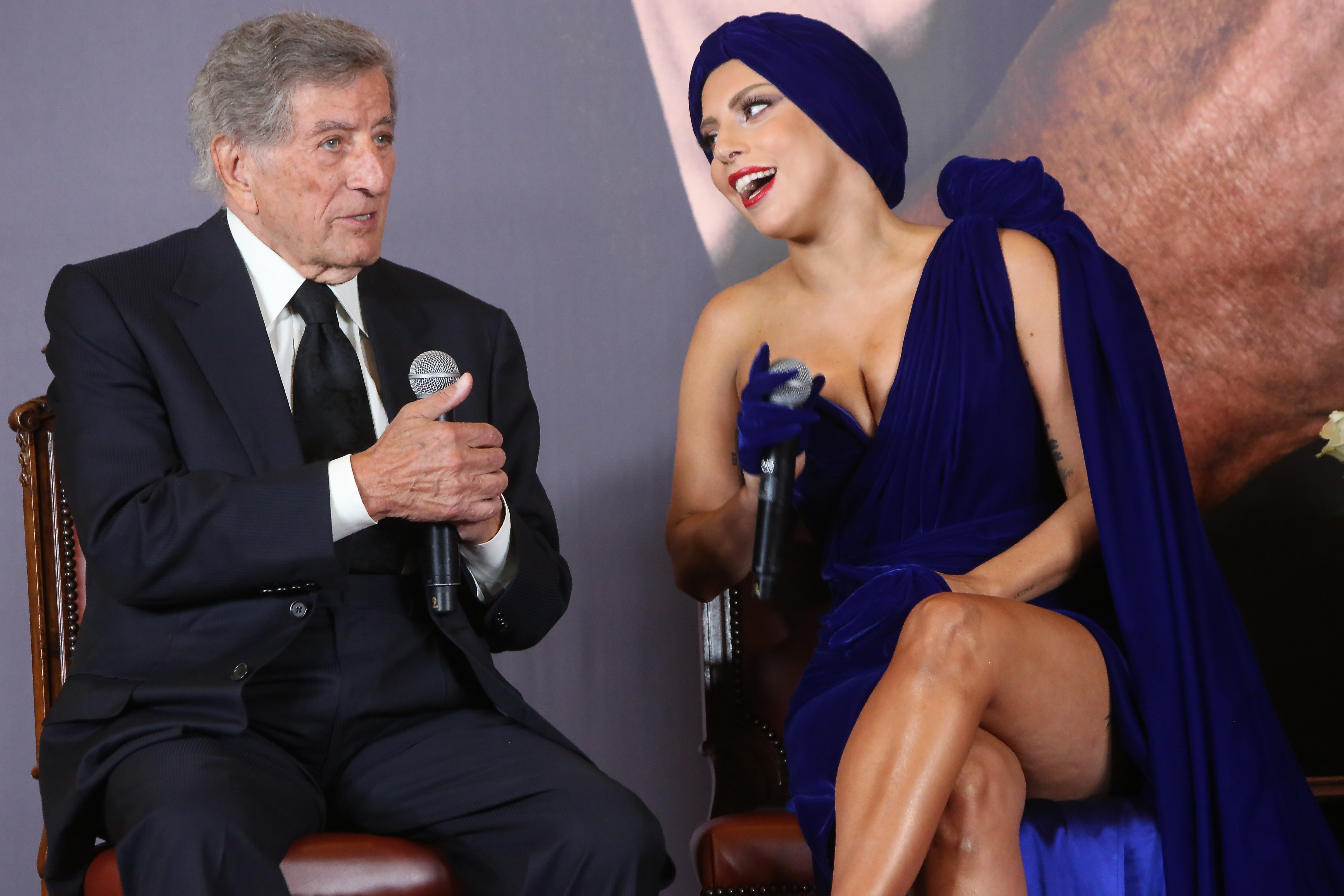 why are lady gaga tony bennett singing together on christmas in rockefeller center